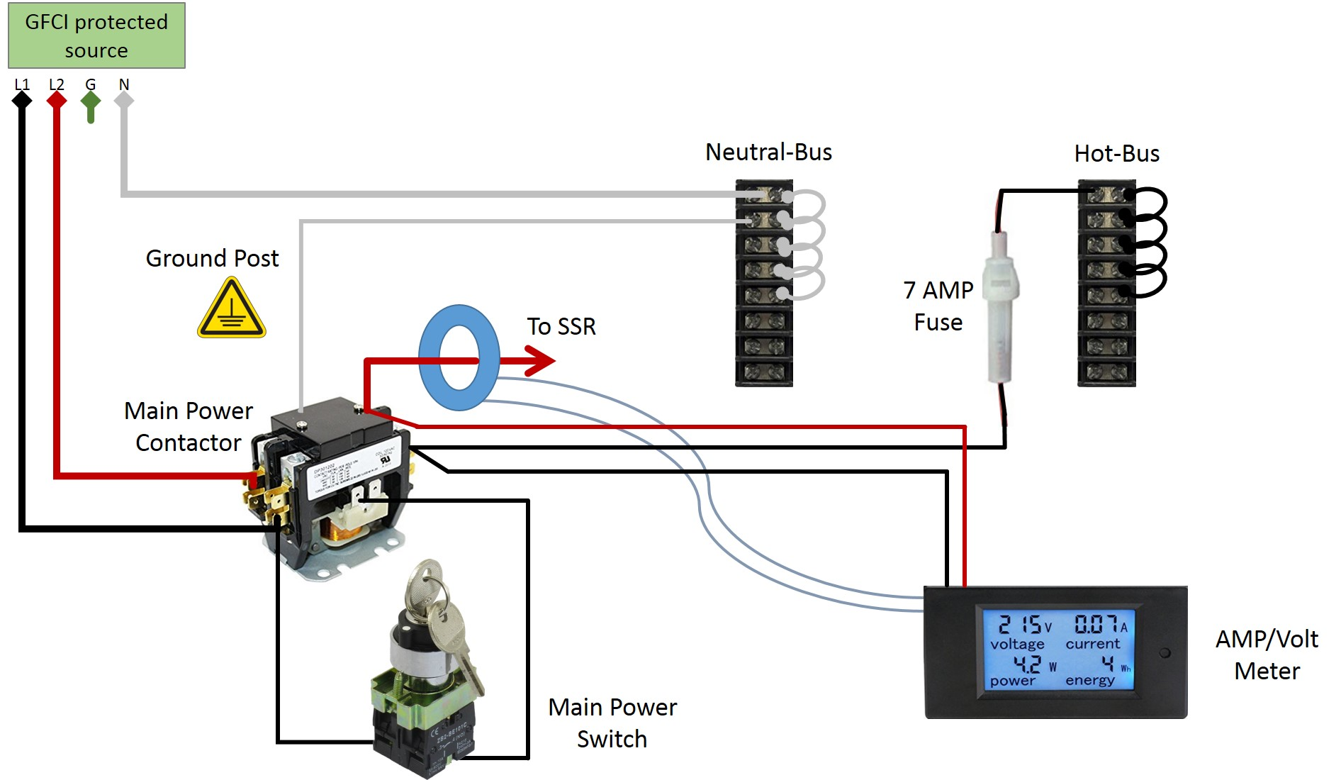 E Herms Brewery Build Forum Taming The Penguin 3 Phase Meter Panel Wiring Diagram 240 Volt Circuit