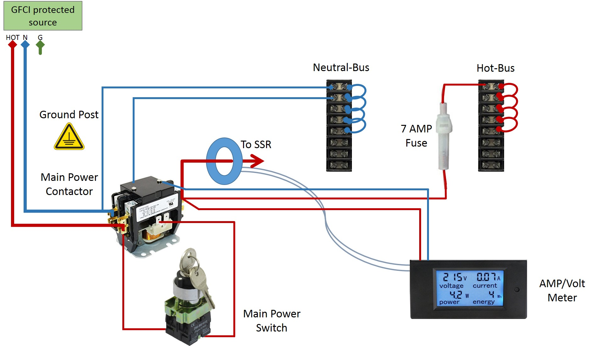 Wiring For Switch And Contactor Coil - Wiring Diagram Schemas